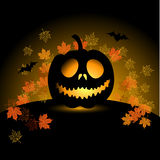 Halloween pumpkin illustration Royalty Free Stock Photos