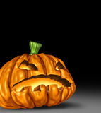 Halloween pumpkin isolated Stock Photography