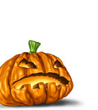 Halloween pumpkin isolated Royalty Free Stock Photo
