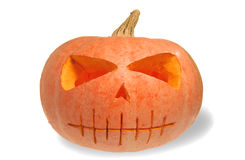 Free Halloween Pumpkin Isolated Royalty Free Stock Photos - 3272928