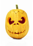 Halloween Pumpkin isolated on white background Royalty Free Stock Photo