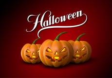 Halloween Pumpkin Jack Lanterns Royalty Free Stock Photo
