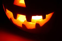 Halloween pumpkin (jack-o'-lantern) Stock Photography