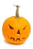Halloween pumpkin (jack-o-lantern) Stock Photos