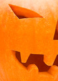 Halloween pumpkin (jack-o-lantern) Stock Photography