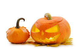 Halloween pumpkin Jack O'Lantern Royalty Free Stock Images