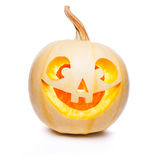 Halloween pumpkin Jack O Lantern shiny Royalty Free Stock Photos