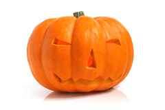 Halloween pumpkin (Jack-o'-lantern) Royalty Free Stock Photo