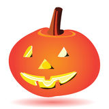 Halloween pumpkin lantern Royalty Free Stock Photography