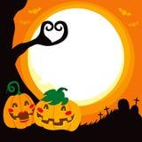 Halloween Pumpkin Love Royalty Free Stock Photos