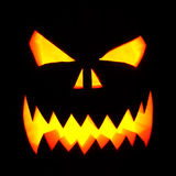 Halloween pumpkin mask Royalty Free Stock Photo