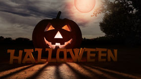 Halloween pumpkin Stock Images