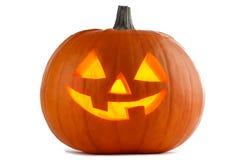 Free Halloween Pumpkin On White Stock Photography - 124597732