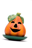 Halloween pumpkin in orange Stock Photos