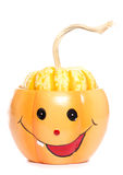 Halloween pumpkin ornament Royalty Free Stock Image