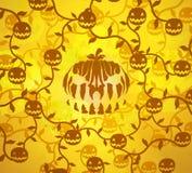 Halloween Pumpkin Patch Light Royalty Free Stock Image