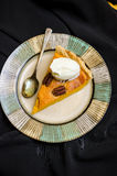 Halloween pumpkin pie with spices Stock Image