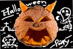 Halloween pumpkin. S Thailand ,Dark Tone Stock Photo
