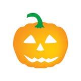 Halloween pumpkin. Scary halloween pumpkin- vector illustation Stock Photography
