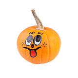Halloween pumpkin with smile face Royalty Free Stock Photography