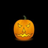 Halloween pumpkin. Vector Royalty Free Stock Image