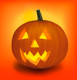 Halloween pumpkin. Vector. Royalty Free Stock Photography