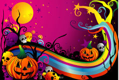 Halloween pumpkin vector Stock Photos