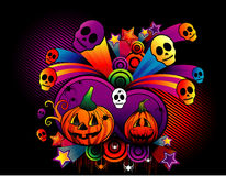 Halloween pumpkin vector Stock Photography