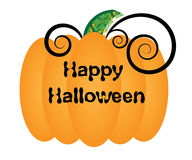 Halloween pumpkin vector Royalty Free Stock Photography