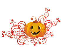 Halloween Pumpkin. Vector illustration stock image