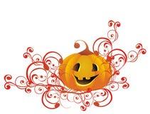 Halloween Pumpkin. Vector illustration Stock Image