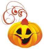 Halloween Pumpkin. Vector illustration stock photo