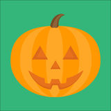 Halloween pumpkin vector illustration Royalty Free Stock Photos