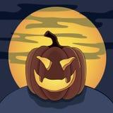 Halloween pumpkin vector Royalty Free Stock Image
