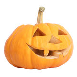 Halloween Pumpkin. Pumpkin on the white background for holloween celebration Royalty Free Stock Photography