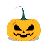 Halloween Pumpkin on white background. Halloween Pumpkin, Halloween Icon, Halloween stock illustration