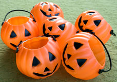 Halloween pumpkins. With pumpkin friends Stock Photos