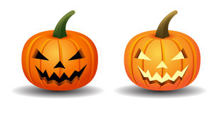 Halloween pumpkins. Symbol  party Stock Photography