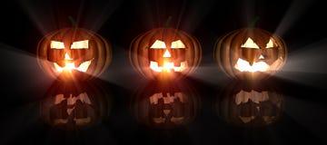 Free Halloween Pumpkins Royalty Free Stock Photography - 7169077