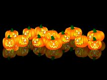 Halloween pumpkins Royalty Free Stock Photography