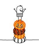 Halloween & pumpkins Royalty Free Stock Photos