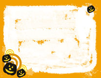Halloween Pumpkins Abstract Background Royalty Free Stock Image