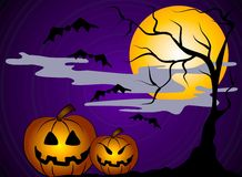 Halloween Pumpkins Clip Art 2 Stock Photos