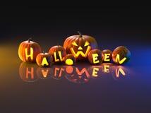 Halloween Pumpkins Stock Photo