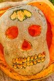 Halloween Pumpkins. Decoration in Montenegro stock images