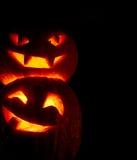 Halloween pumpkins Stock Photos