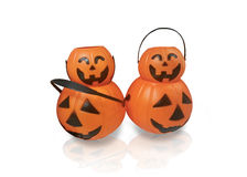 Halloween Pumpkins isolated. Stock Photography