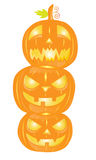 Halloween pumpkins Royalty Free Stock Photos