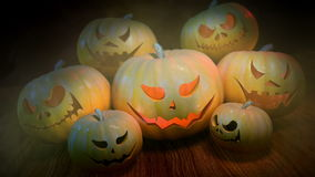 Halloween Pumpkins stock video