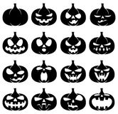 Halloween pumpkins. Stock Photos